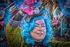 portrait in blue (stevefge) Tags: 2018 beuningen carnaval carnival blue people candid street women costumes procession nederland netherlands nl nederlandvandaag gelderland reflectyourworld