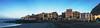 Gomera Skyline (Jörg Bergmann) Tags: elcallao gomeralounge islascanarias kodak lagomera laplaya panorama playadelacalera vallegranrey yaya beach bluesky canarias canaryislands coast españa gf7 gomera lumix m43 mft morning ocean palmtrees panasonic panoramic sea skyline spain travel vacation village winter stitched microfourthirds micro43 panorámica panasonic1232mmf3556