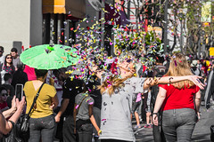 Lunar New Year Celebration, Downtown, Los Angeles, California (paccode) Tags: laughing california d850 urban smile candid shades street people sunglasses parade hat glasses crowd happy colorful simplepleasures flickrfriday