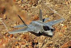 Down Low (Dafydd RJ Phillips) Tags: edwards afb base air force netherlands dutch 323 tes sqn squadron test evaluation death valley rainbow canyon jedi transition star wars panamint f35a f35 lightning