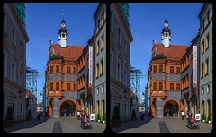 Görlitz historical architecture 3-D / CrossEye / Stereoscopy / HDR / Raw (Stereotron) Tags: saxony sachsen görlitz zgorzelec zhorjelc oberlausitz euroregion neise europastadt streetphotography architecture europe germany deutschland crosseye crosseyed crossview xview cross eye pair freeview sidebyside sbs kreuzblick 3d 3dphoto 3dstereo 3rddimension spatial stereo stereo3d stereophoto stereophotography stereoscopic stereoscopy stereotron threedimensional stereoview stereophotomaker stereophotograph 3dpicture 3dglasses 3dimage twin canon eos 550d yongnuo radio transmitter remote control synchron kitlens 1855mm tonemapping hdr hdri raw