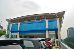 Stasiun Kota BNI (That's not the way Debbigail depicted (using album) Tags: jakarta building gedung architecture arsitektur railwaystation stasiunkereta
