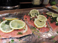 yummy dinner with the family in Tofino.. (iwona_kellie) Tags: dinner family friends food tofino britishcolumbia vancouverisland december 2017 newyear salmon grouse
