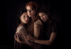 Sisters and Friends ({jessica drossin}) Tags: jessicadrossin photography sisters girls women teens tweens dark redhair redhead dresses formal wwwjessicadrossincom