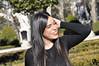 Patricia López (Vicky Carras) Tags: retrato photo fotografía madrid templodebod plazaespaña tiovivo vistas españa gorro invierno winter sun cold