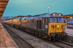 50008 4Z03 (47843 Vulcan) Tags: 50008 thunderer class50 englishelectric 4z03oakhamptontoderby railgrinder loramrailoperations