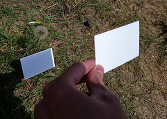 Pinhole Viewer (uhhey) Tags: solareclipse eclipse shadow