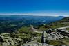 Way of Rhune (Joseph Trojani) Tags: montagne mountain pyrenees roc sky beautiful ciel blue bleue landscape paysage nikon d7000 rhune paysbasque
