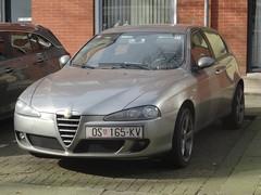 Alfa Romeo 147 from Croatia (harry_nl) Tags: netherlands nederland 2018 rotterdam alfaromeo 147 croatia