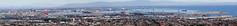 Port of Los Angeles ...San Pedro .... 6 photo merge with crop (pekabo90401) Tags: pekabo90401 harborview greateasyhiking socal viewfrompalosverdespeninsula lightroom photoshopelements8 panorama