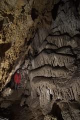 Daniel dans la galerie du fond de la Grande Grotte des Pierrottes - Scey Maisières (francky25) Tags: daniel dans la galerie du fond de grande grotte des pierrottes scey maisières franchecomté doubs karst
