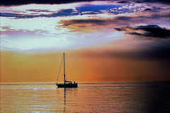 Baltic Boat Scene