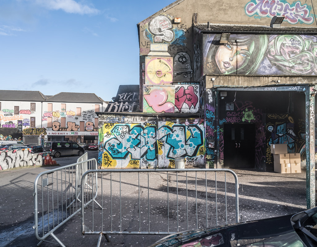 STREET ART AT THE TIVOLI CAR PARK IN DUBLIN [LAST CHANCE BEFORE THE SITE IS REDEVELOPED]-135623