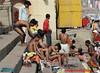 Before and after the holy bath in Ganga river, Dashaswamedh Ghat, Varanasi (Sekitar) Tags: uttar uttarpradesh india inde varanasi benares ganga ganges river riverside dashaswamedh ghat boy bathing shirtless holy
