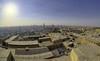 View of Cairo from Citadel (T Ξ Ξ J Ξ) Tags: egypt cairo fujifilm xt2 teeje samyang8mmf28 citadel old town salahaldin medieval mokattam muhammadali unesco