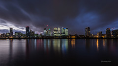 _C9Q2905-1 (rodwey2004) Tags: london landscape nightphotography longexposure reflection canarywharf twilight