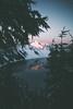 #1136 (-HannahKemp) Tags: alpenglow forest snow winter lake reflection sunrise oregon craterlakenationalpark craterlake pnw pacificnorthwest nationalpark