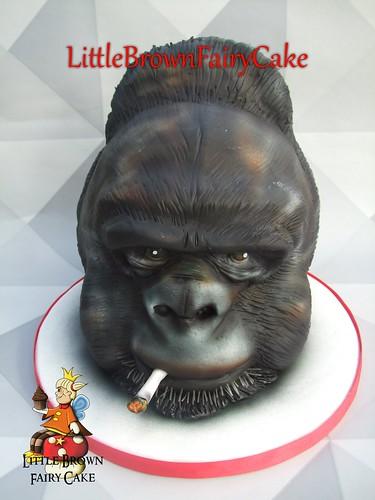 a gorila cake