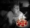 Blow Out (ronramstew) Tags: cake candles blow selectivecolour birthday