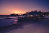 Cafe Kahvila Kampela (Bunaro) Tags: uutela vuosaari helsinki finland visitfinland suomi myhelsinki winter sunset colorful sky landscape snow ice sea waterscape