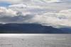 Beagle Channel, Argentinian Coast (blauepics) Tags: argentina argentinien fireland feuerland tierra de fuego landscape landschaft ushuaia mountains berge snow schnee clouds wolken water wasser beagle channel kanal coast küste light licht