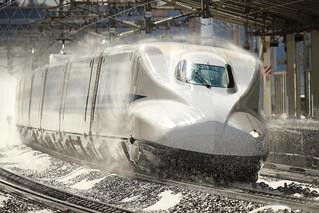 Aerodynamic design  ---Shinkansen N700A the super express---