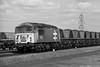 56126 (Monochrome Rail) Tags: 56126 br british railways type5 diesel locomotive engine traction train railway grid class56 ruston paxman large logo coal mgr merrygoround haa hopper milford junction monochrome black white uk rail edengrove