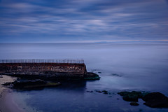 Ghosts, La Jolla, May 26, 2017. (R*Pacoma) Tags: places lajollacove longexposure sandiego california lajolla childrenspool morning ocean water seascape landscape nikon d7100 sigma 1850