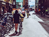 Bicycle (Pablo Crespo P) Tags: bycicle street streetphotography girl