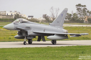 Oman Air Force --- Eurofighter Typhoon EF2000 --- ZR407
