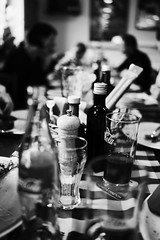 At the Italian restaurant (mripp) Tags: fo food essen art vintage retro old eating restaurant italian italy italienisches essest pizza sony rx1rii