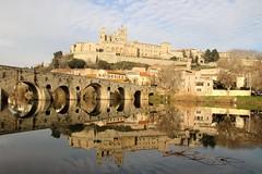 BEZIERS 1 (christian.villevieille) Tags: pont riviere fleuve eau cathedrale beziers ville