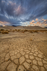 Earth & Sky (Jeffrey Sullivan) Tags: dry clay playa death valley national park sand dunes landscape nature travel photography inyocounty california united states usa canon eos 5d mark iii photo copyright 2015 jeff sullivan april