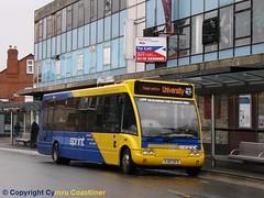 Solo Sprinter (Cymru Coastliner) Tags: kinchbus optaresolo 7 yj07efx bus loughborough sprint wellglade