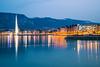 Sunset over Geneva Lake (the_oli_one) Tags: sunset twilight dusk sky city lac leman geneva lake geneve jetdeau jet