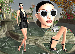 LuceMia - On9 Event (MISS V♛ ITALY 2015 ♛ 4th runner up MVW 2015) Tags: slackgirl anamarkova haysuriza on9event sl new fashion exclusive glass makeup shoes dress cocktail event mesh creations hud models lucemia