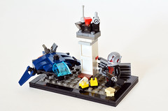 Micro Super Hero Airport Battle