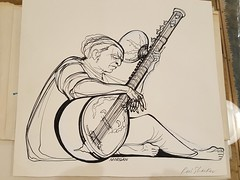 """RAVI SHANKAR SKETCH AND SHOW PROGRAMS GROUP, 1970'S.  $150. • <a style=""""font-size:0.8em;"""" href=""""http://www.flickr.com/photos/51721355@N02/39626554951/"""" target=""""_blank"""">View on Flickr</a>"""
