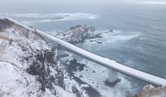 2414 (Keiichi T) Tags: bridge canon sea eos 日本 snow road 冬 海 6d 道 橋 雪 winter japan