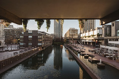 Barbican #XVII (Alexander Rentsch) Tags: sonya7ii canontse17mmf4l greatbritain england london cityoflondon barbican architecture architektur urban city utopia scifi modernism future retro vintage colors colours farben geometry vscofilm