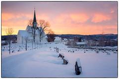 Morgenstemning i januar #4 (Krogen) Tags: norge norway norwegen akershus romerike nannestad landscape landskap krogen vinter winter fujifilmx100