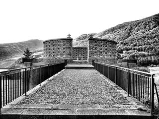 way to war memorial - Reschen Pass, Italy(B/W-edit)