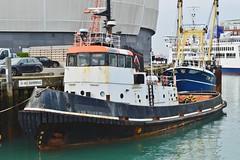 Ex Cory Tug (PD3.) Tags: tennaherdhya cory tug tugs ttms viking camber hants hampshire boat boats solent portsmouth docks