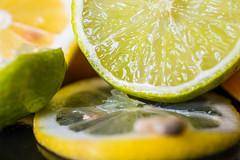 Citrus (Maria Eklind) Tags: lemon clementin macromondays lime citrus macro fruit closeup