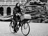 Girl on bicycle (jdel5978) Tags: girl fille vélo bicycle grotemarkt anvers antwerp antwerpen noiretblanc bw blackwhite blackandwhite steet streetview rue