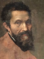 1-19 Divine Michelangelo at The Met (MsSusanB) Tags: delconte portrait painting metmuseum metropolitanmuseum michelangelo divine museum exhibition nyc art