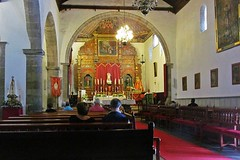 inside the church :) (green_lover) Tags: church interior adeje tenerife canaryislands spain altar benches architecture arch
