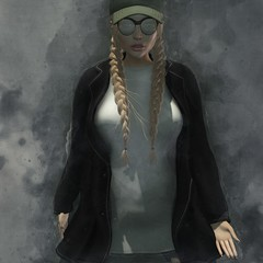 Scattered (Artfx1) Tags: absolutvendetta agata coat cosmopolitan eris fetch foxy gemma hair hat kustom9 poseidon poses skinnyjeans sunglasses tyr