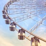 Paris France - The Roue de Paris - Ferris Wheel - Gondolas thumbnail