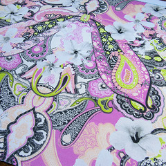 floral-paisley-pattern-printed-fabric (Paisley Pat) Tags: hibiscus hibiscuses flower flowerdesign flowerpattern floralphoto ethnic indian paisley paisleypower printed print printedfabric paisleyprint pattern digitalprint digitallyprinted design designer designed decor decorative homedecor fashionprint fashionable fashionfabric